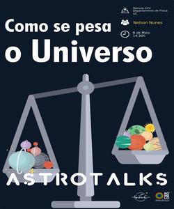Astrotalks : como se pesa o universo thumb