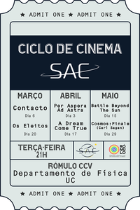 Ciclo de Cinema SAC 2018
