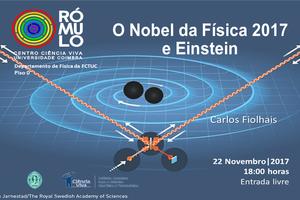 O Nobel da Física 2017 e Einstein thumb