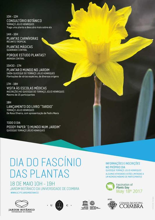 Cartaz Dia do Fascínio das Plantas