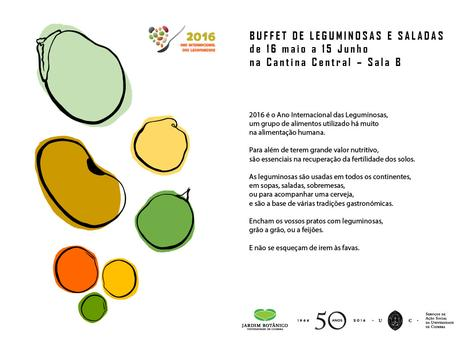 Buffet de Leguminosas Cartaz