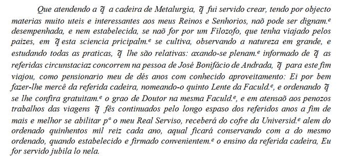 Texto Bonifácio