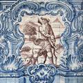 Pormenor de painel de azulejos | <i>Detail of tile panel</i>