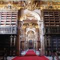 Interior da Biblioteca Joanina | <i>Interior of the Joanine Library</i>