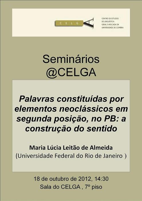 Conferência de Maria Lúcia Leitão