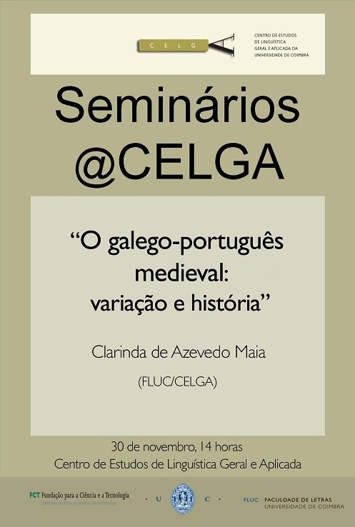Seminário de Clarinda Maia