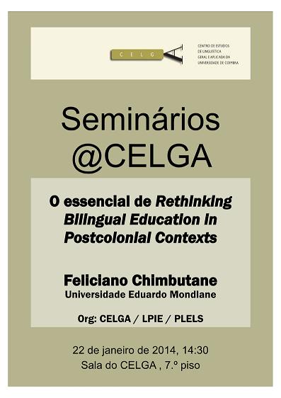 Seminário de Feliciano Chimbutane