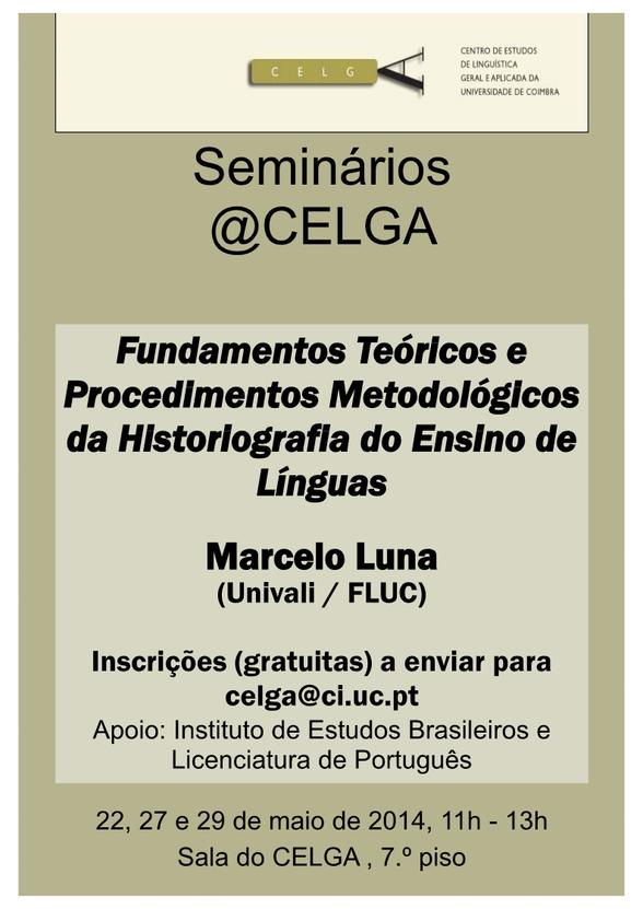 Seminário de Marcelo Luna