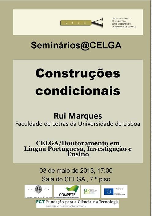 Seminário de Rui Marques