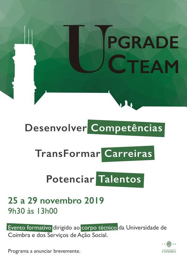 Cartaz Upgrade UC Team
